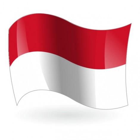 Bandera de la República de Indonesia