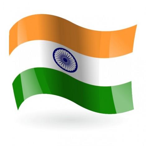 Bandera de la República de la India