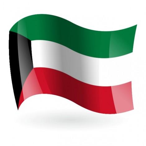 Bandera del Estado de Kuwait