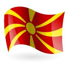 Bandera de la República de Macedonia
