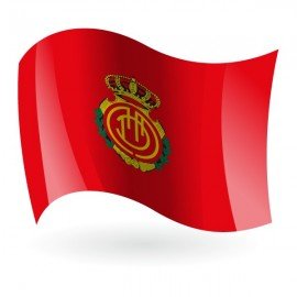Bandera del Real Club Deportivo Mallorca mod. 1