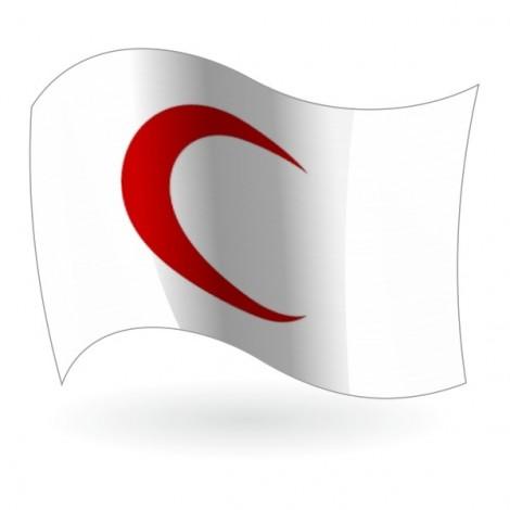 Bandera de la Media Luna Roja
