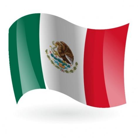 Bandera de México ( Estados Unidos Mexicanos )