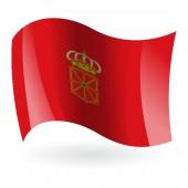 Bandera de Navarra ( Comunidad Foral )