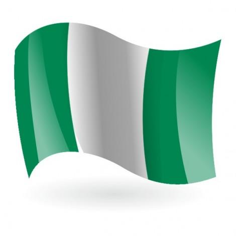 Bandera de la República Federal de Nigeria