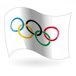 Bandera de los Anillos olímpicos