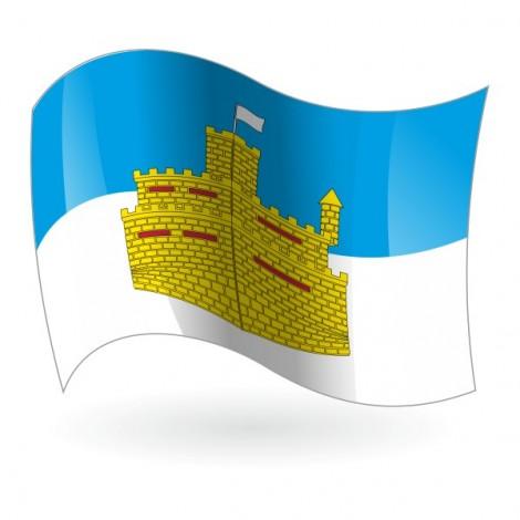 Bandera de Oropesa del Mar