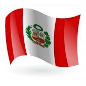 Bandera de la República del Perú