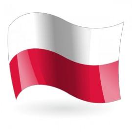 Bandera de la República de Polonia
