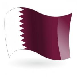 Bandera del Estado de Catar ( Qatar )