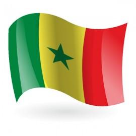 Bandera de la República de Senegal
