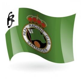 Bandera del Real Racing Club de Santander, S. A. D. mod. 1