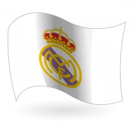 Bandera del Real Madrid Club de Fútbol mod. 1