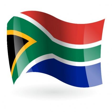 Bandera de la República de Sudáfrica