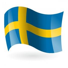 Bandera del Reino de Suecia