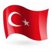 Bandera de la República de Turquía