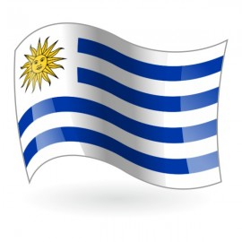 Bandera de Uruguay ( República Oriental del Uruguay )