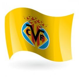 Bandera del Villarreal Club de Fútbol Mod. 1
