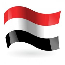 Bandera de la República de Yemen