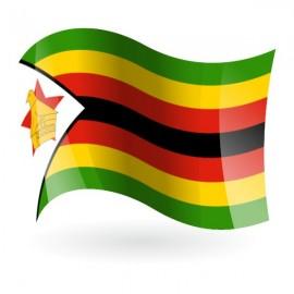 Bandera de la República de Zimbabue