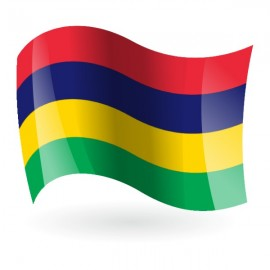 Bandera de la República de Mauricio
