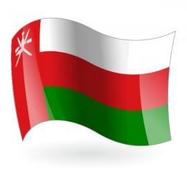 Bandera de la Sultanía de Omán