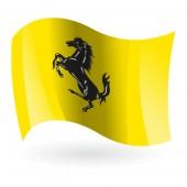 Bandera de Ferrari mod. 3