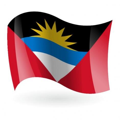 Bandera de la Antigua y Barbuda