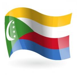 Bandera de Comoras ( Unión de las )