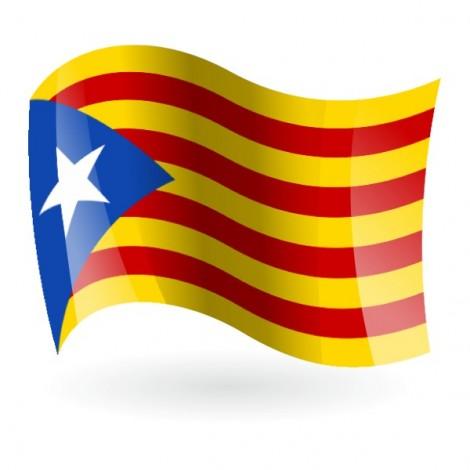 Bandera Estelada azul
