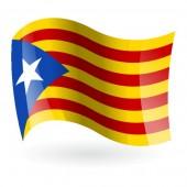 Bandera Estelada azul ( Estelada blava )