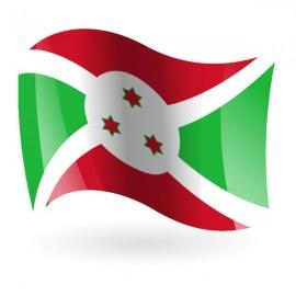 Bandera de la República de Burundi