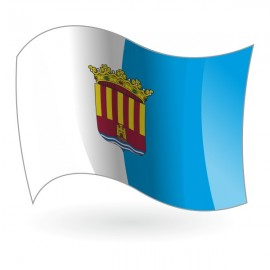 Bandera de la provincia de Alicante ( província d'Alacant )