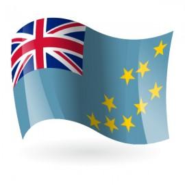 Bandera de Tuvalu ( Islas Ellice )