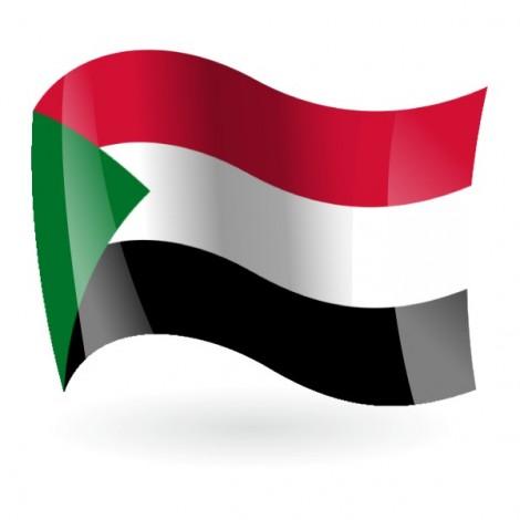 Bandera de la República del Sudán