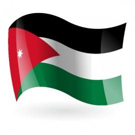 Bandera del Reino Hachemita de Jordania