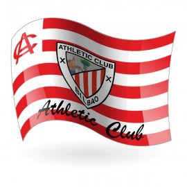 Bandera del Athletic Club de Bilbao mod. 2