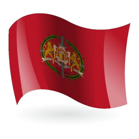 Bandera de Valladolid ( Provincia )