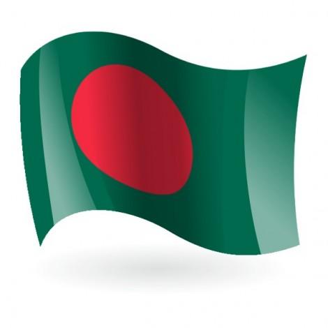Bandera de Bangladés ( Bangladesh )