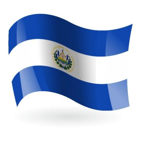 Bandera de la República de El Salvador